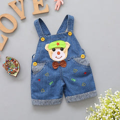 Jeans Overalls Shorts - Oh Happy Mommy