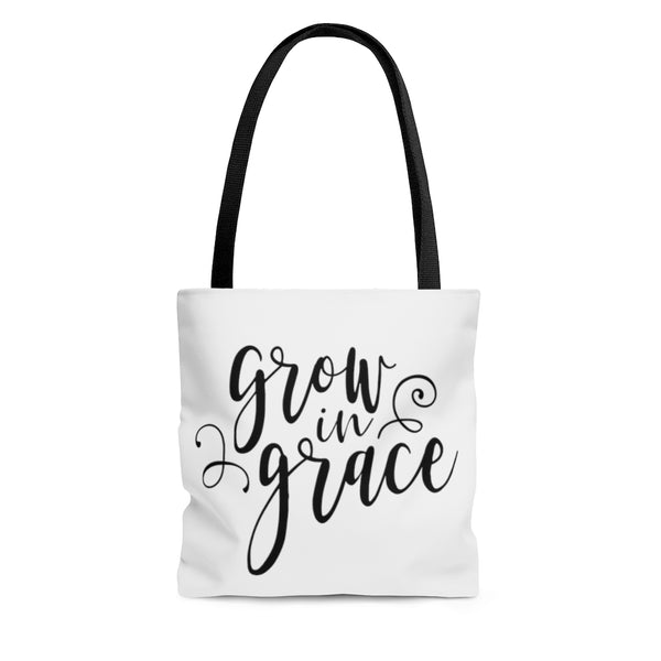 Grow in Grace Tote Bag