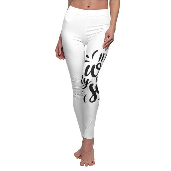 It is Well With My Soul Women's Casual Leggings