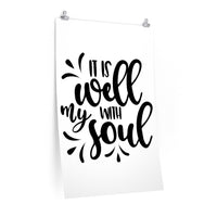 It is Well With My Soul Love Poster