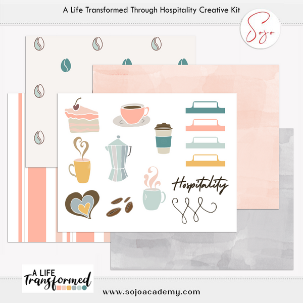A Life Transformed through Hospitality Creative Elements and Papers