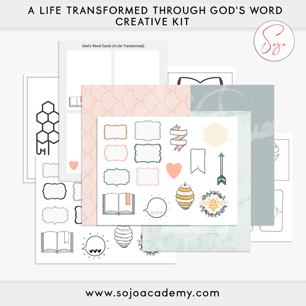 A Life Transformed through God's Word Creative Kit