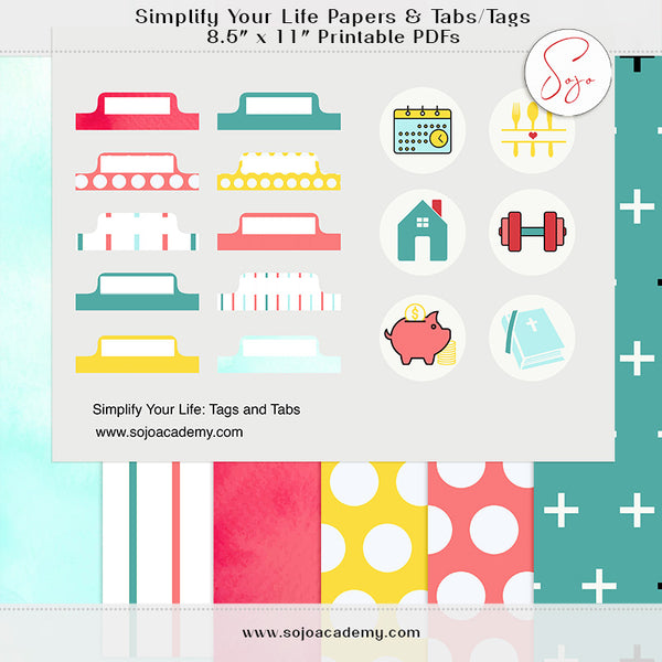 {Simplify} Simplify Your Life: Papers and Tabs & Tags