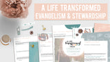 A Life Transformed Through Evangelism and Stewardship: 4-Week Bible Study