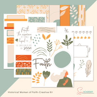 Learning Life Lessons from Historical Women of Faith Creative Kit