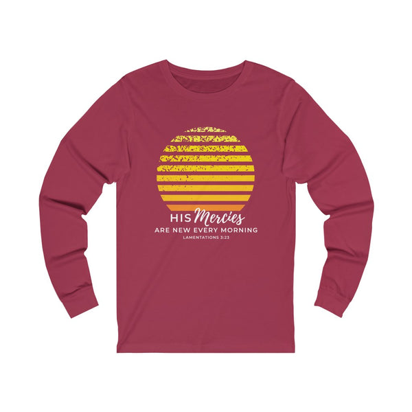 New Mercies Unisex Jersey Long Sleeve Tee