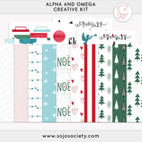 Alpha and Omega Creative Kit