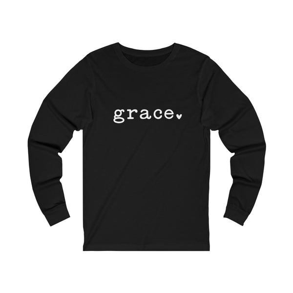 Grace Unisex Jersey Long Sleeve Tee