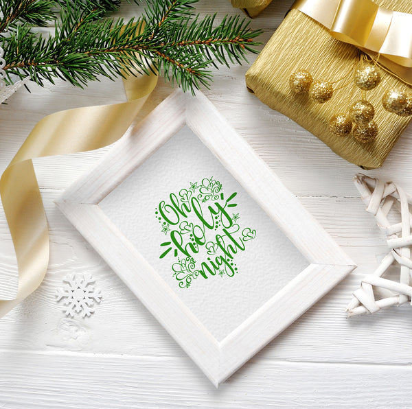 Christmas Oh Holy Night Printable
