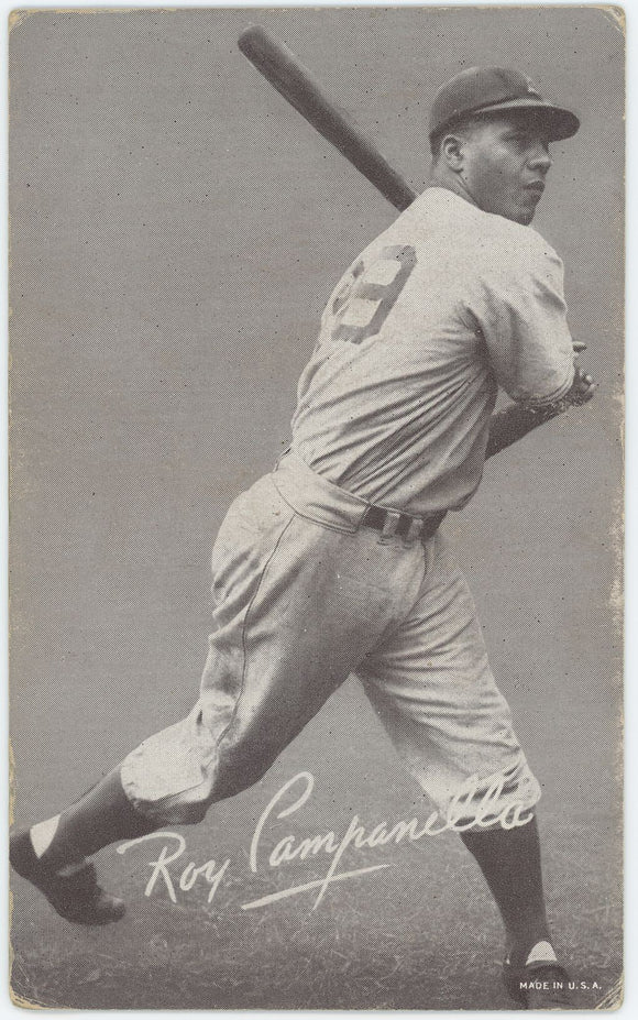 1947-1966 Exhibits Roy Campanella - Good Condition