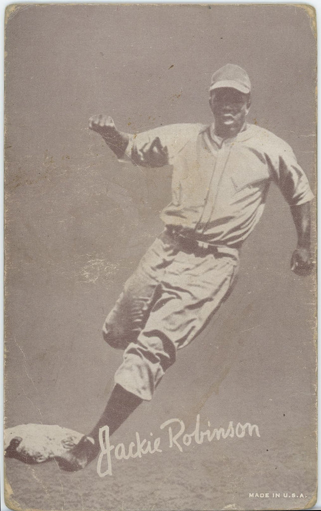 1947-1966 Exhibits Jackie Robinson - Fair Condition