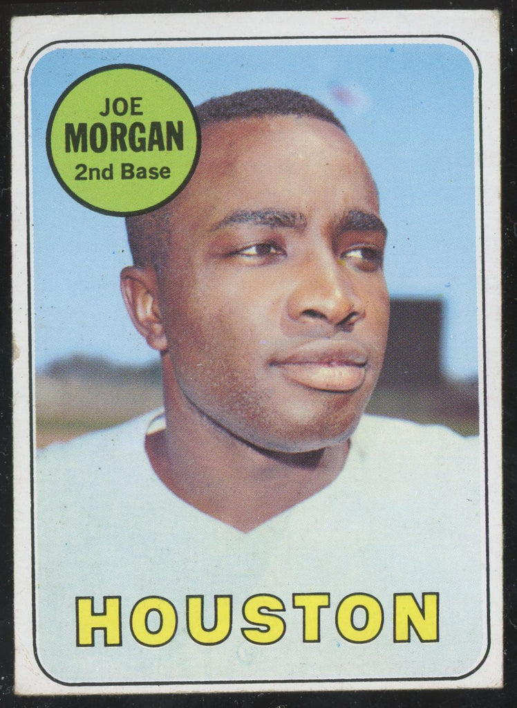 1969 Topps Joe Morgan Reds/Houston HOF #35 GD