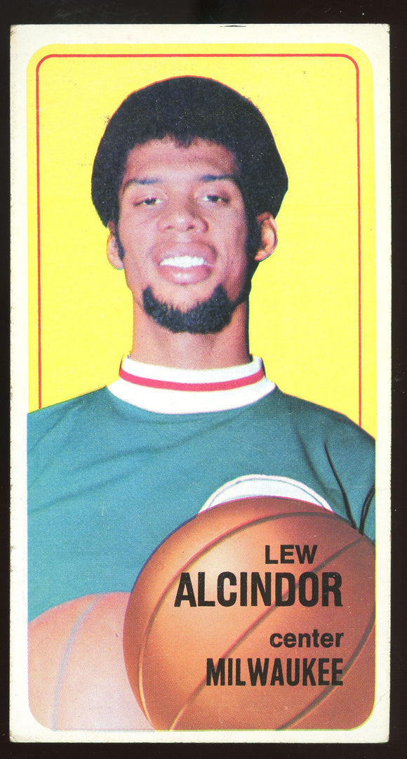 1970-1971 Topps Lew Alcindor #75 - Second Year VG