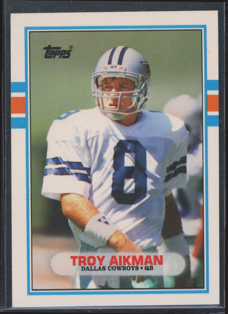 1989 Topps Traded - Troy Aikman #70T- RC NM-MT