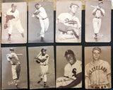1947-66 Exhibits - Star and Commons - 47 Card Lot - Minoso, Pafko, Dropo and More