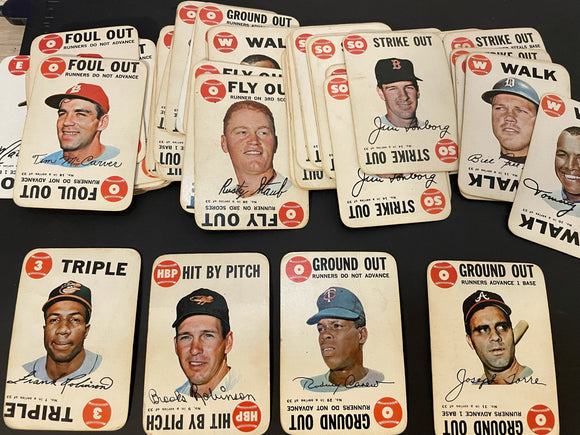 1968 Topps Game Lot HOF, Stars Minor Stars