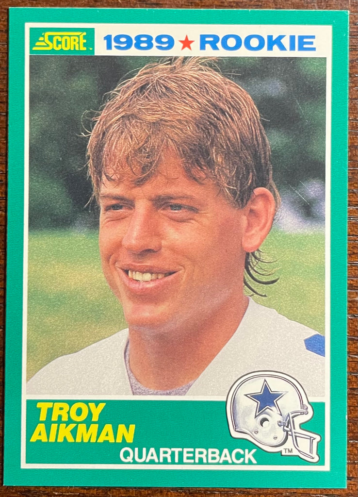 1989 Score #270 Troy Aikman RC NM
