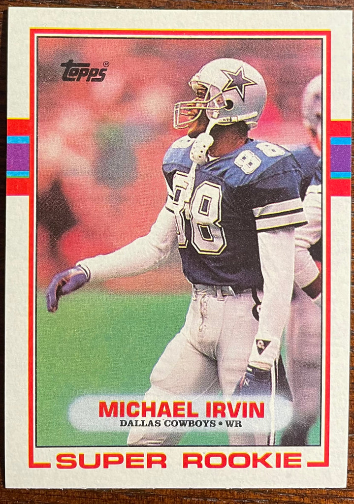 1989 Topps Michael Irvin #383 RC NM-MT