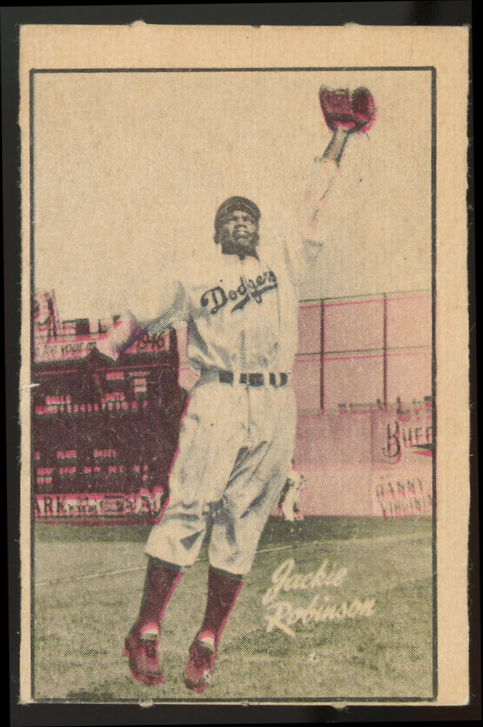 1952 Berk Ross - Jackie Robinson - Good Condition