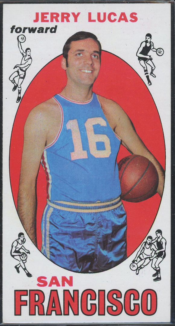 1969-70 Topps Jerry Lucas #45 Warriors RC HOF EXMT/NM