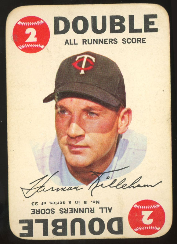 1968 Topps Game Harmon Killebrew #5 (Twins) GD
