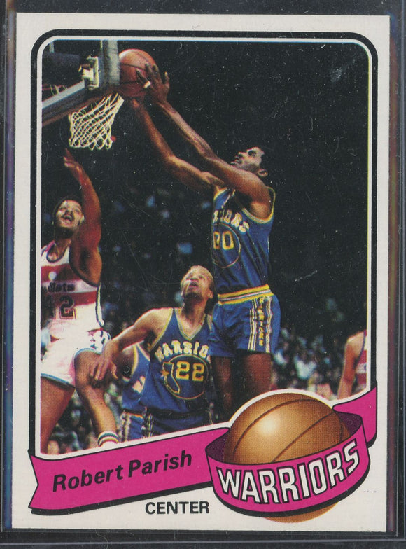 1979-80 Topps Robert Parish #93