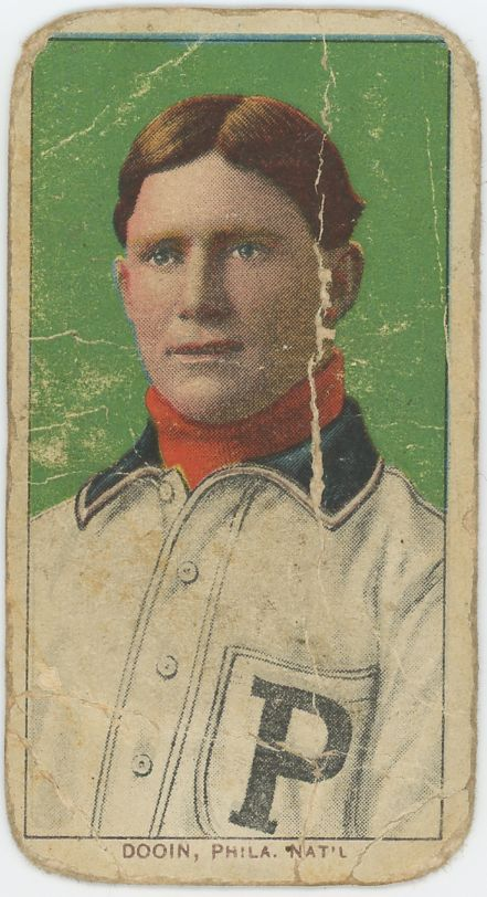 1909-11 T206 Red Dooin Piedmont - Fair To Poor Condition