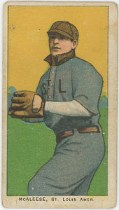 1909-11 T206 John McAlese Piedmont - Good Condition