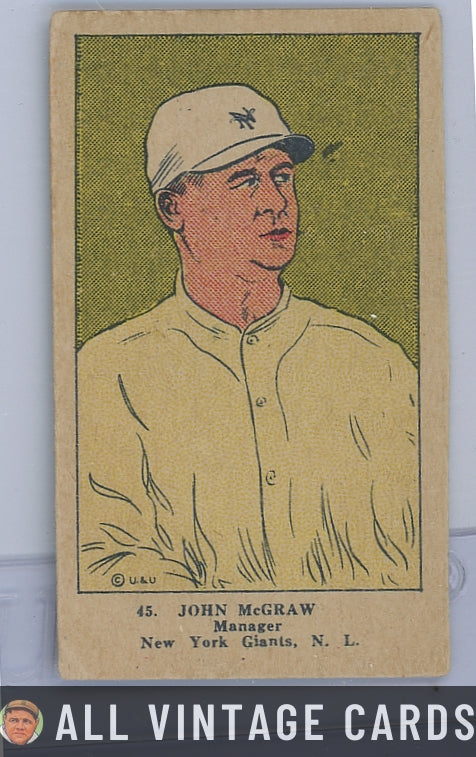 1923 W515-1 John McGraw HOF #45 - Good Condition