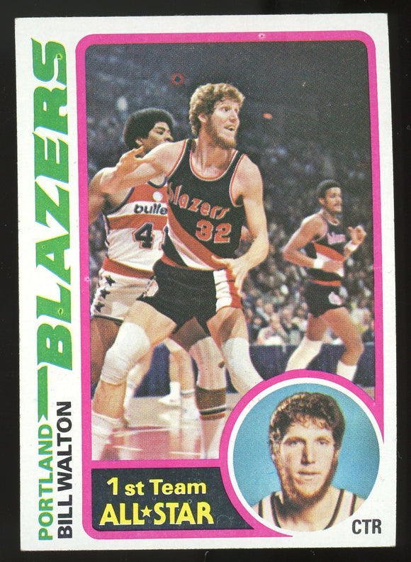 1978-79 Topps Bill Walton #1 EXMT-NM