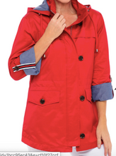 Load image into Gallery viewer, Tribal Flame Red Water Repellant Jacket