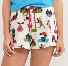 Load image into Gallery viewer, Little Blue House/Hatley Pajamas (Boxers for Women)