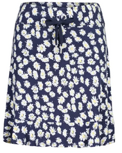 Load image into Gallery viewer, Tribal Floral Print Ruffle Skort