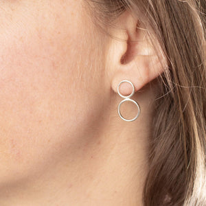 Amanda Moran Designs Double Bubble Earrings