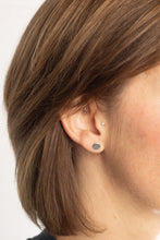 Load image into Gallery viewer, Amanda Moran Designs Handmade Simple Sterling Silver Dot Stud Earrings