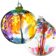 Hand Blown Glass Orbs