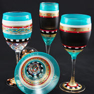 Golden Hill Studios Stemware