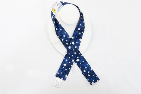 Neck cooler -white stars theme