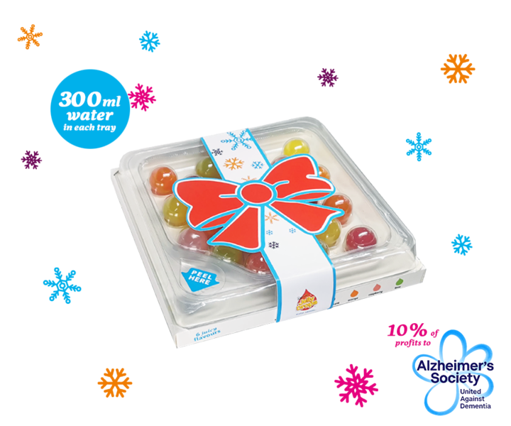 Gift Jelly Drops water sweets this Christmas!