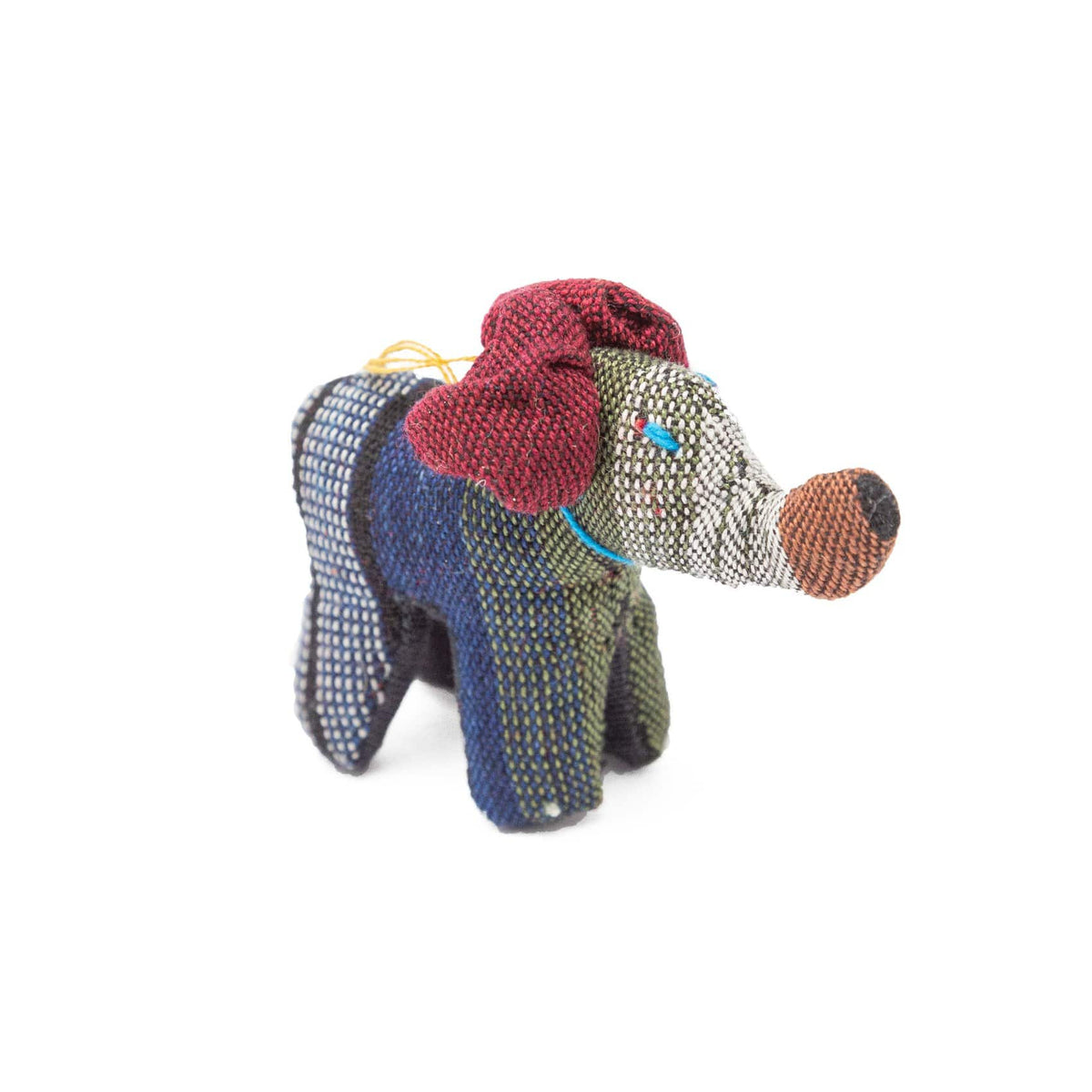 Fair Trade Handmade Cotton Animal Toys Elephant