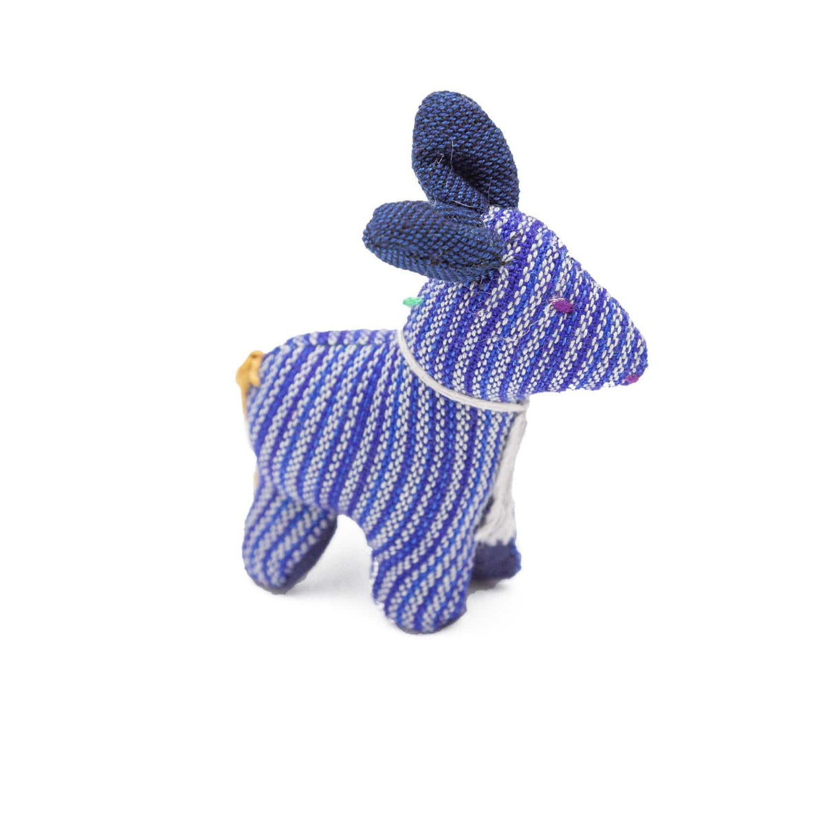 Fair Trade Handmade Cotton Animal Toys Blue
