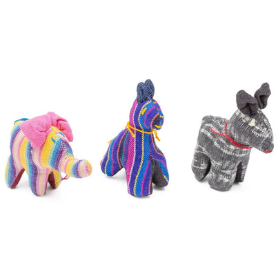 Fair Trade Handmade Cotton Animal Toys