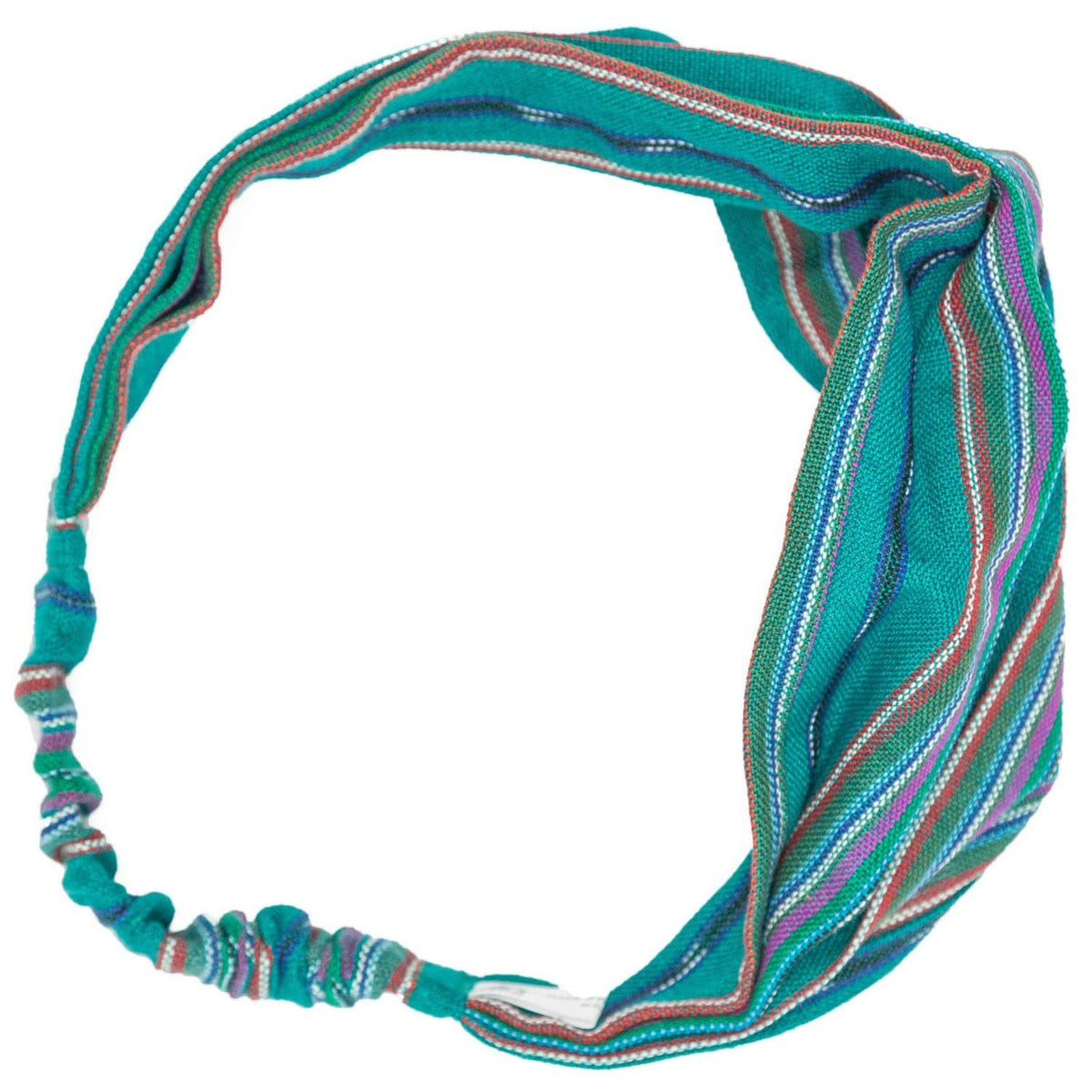 Handmade Boho Headband Dark Teal