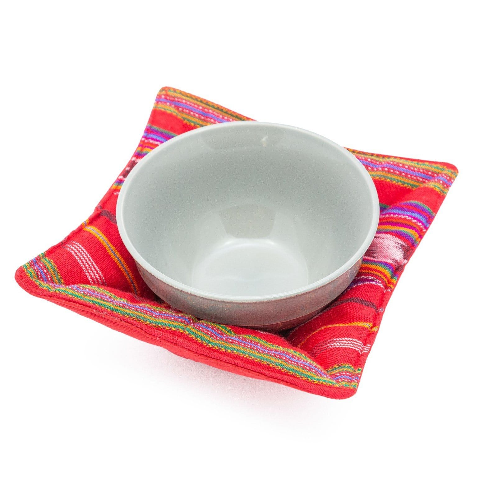 Microwave Bowl Cozy - Festive Red