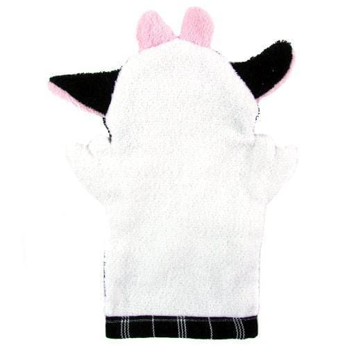 Fair Trade Puppet Washcloth Cow