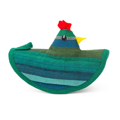 Chicken Pot Holder Teal