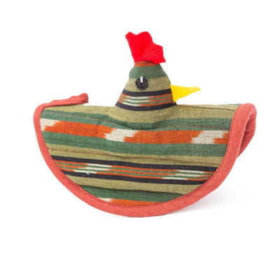 Chicken Pot Holder - Olive Terracotta