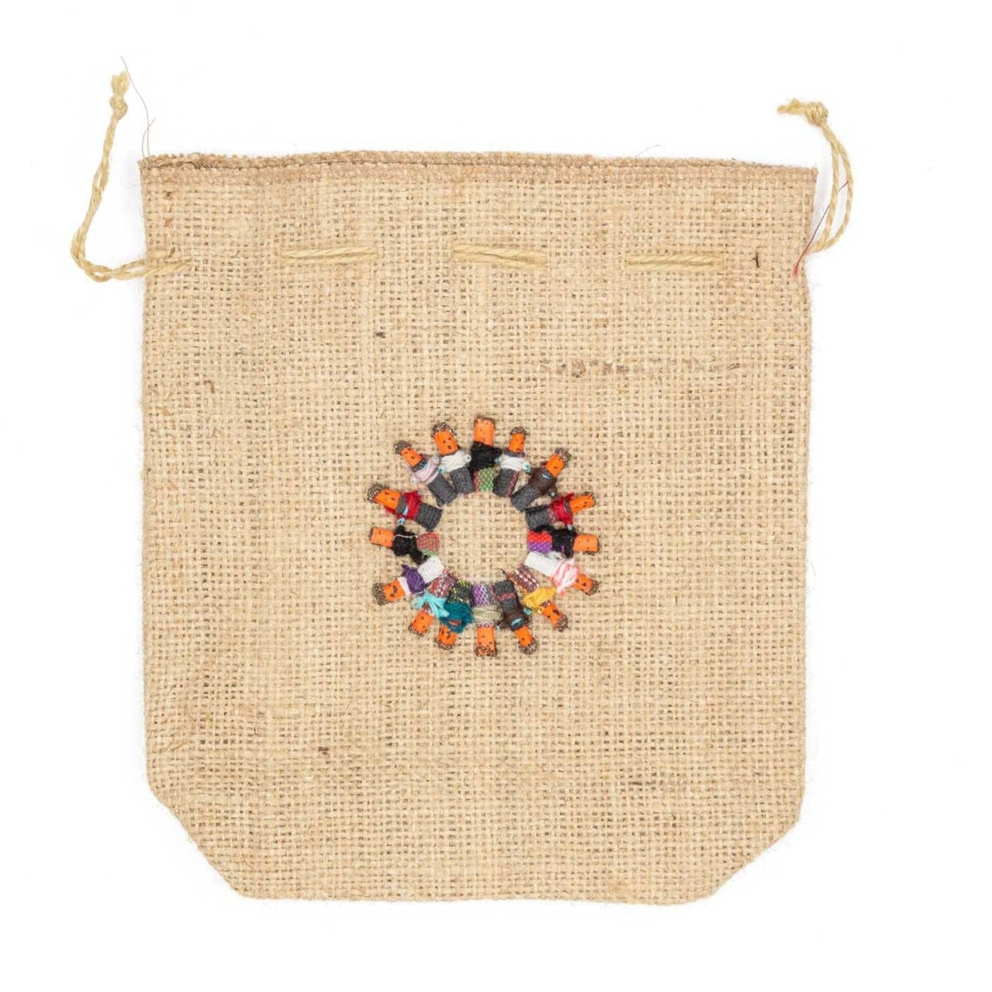 Children Of The World Hemp Drawstring Bag