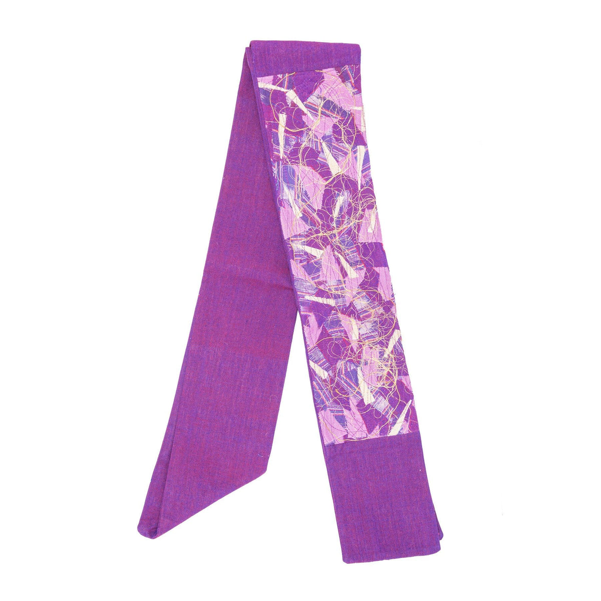 Purple Contemporary Stole