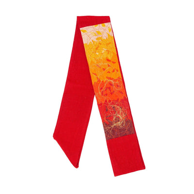Red Contemporary Clerical Stole
